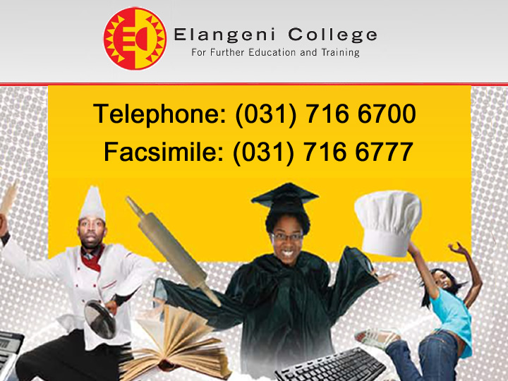 Elangeni College For Further Education And Training