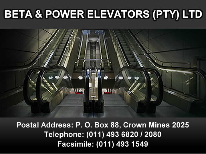 Beta & Power Elevators (Pty) Ltd