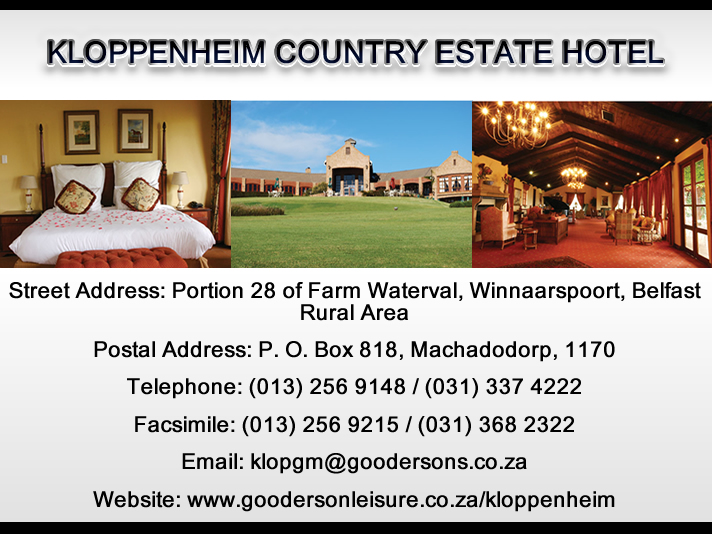 Kloppenheim Country Estate Hotel
