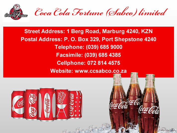Coca Cola Fortune (Pty) Ltd