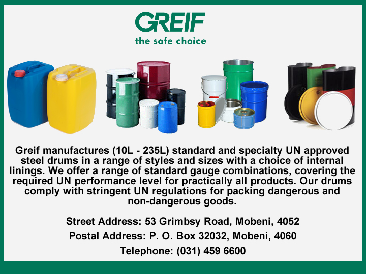 Greif South Africa (Pty) Ltd