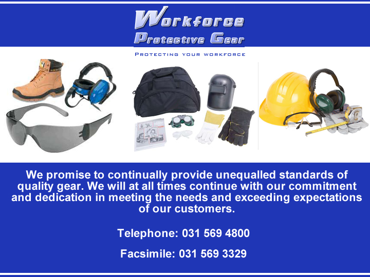 Workforce Protective Gear