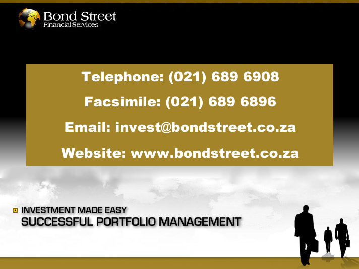 Bond Street Financial Services