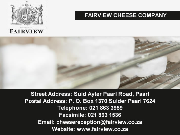 Fairview Cheese Company