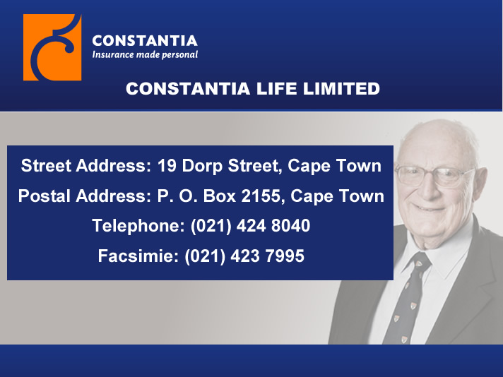 Constantia Life Limited