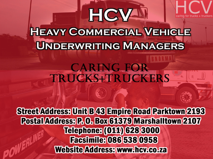 HCV – Heavy Commercial Vehicle Underwriting Managers (Pty) Ltd