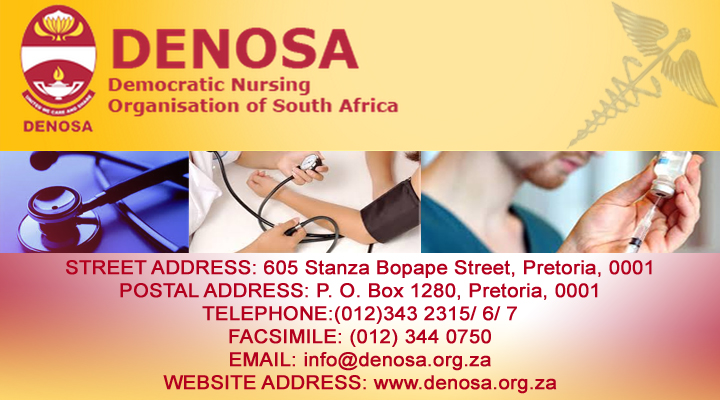 DENOSA – Democratic Nursing Organisation of South Africa