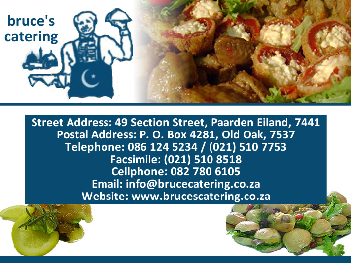 Bruce`s Catering