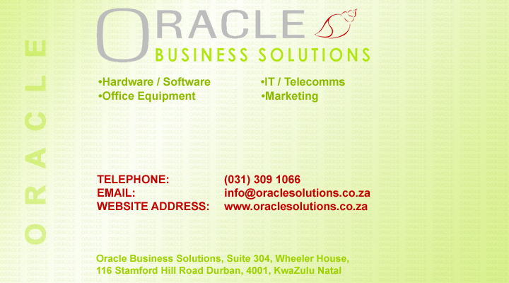 Oracle Business Solutions