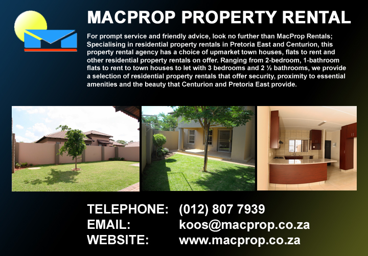 Macprop Property Rental