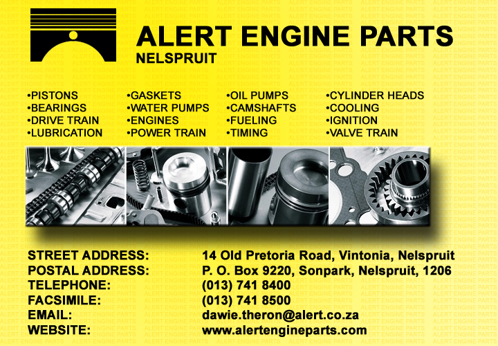 Alert Engine Parts- Nelspruit