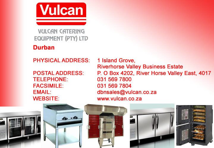 Vulcan Catering Equipment- Durban