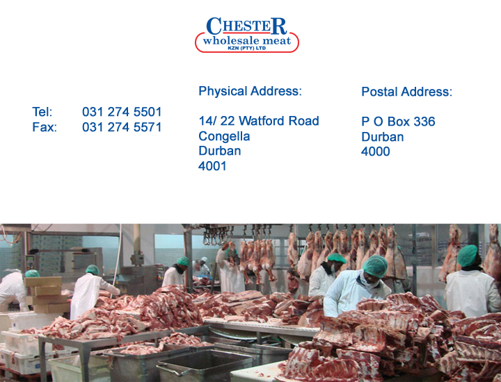 Chester Wholesale Meats (Pty) Ltd